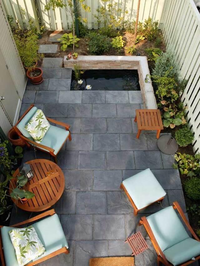 Thiết kế không gian sinh hoạt sân vườn 2