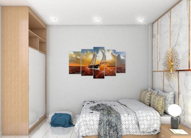 Thiết kế nhà 4x10m có tầng lửng với 7 phòng ngủ 7
