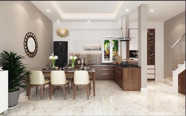 Thiết kế phòng bếp 1