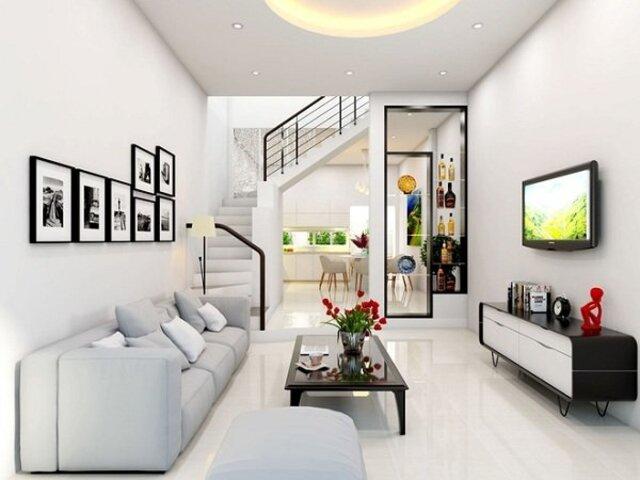 Thiết kế không gian phòng khách 2