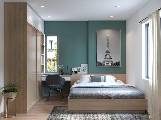 Thiết kế phòng ngủ 20m2 cho cá nhân