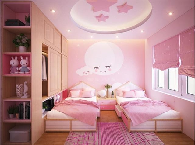 Thiết kế phòng ngủ 20m2 cho trẻ em 3