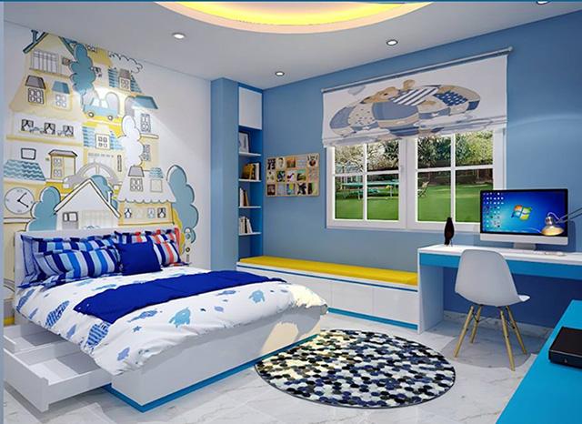 Thiết kế phòng ngủ 20m2 cho trẻ em 1