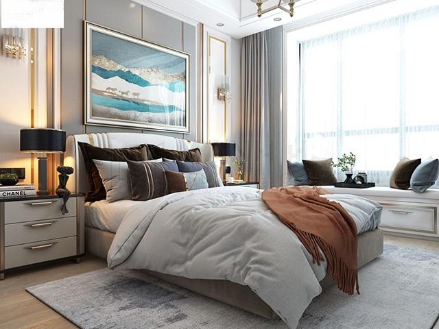 Thiết kế phòng ngủ 20m2 cho vợ chồng 1