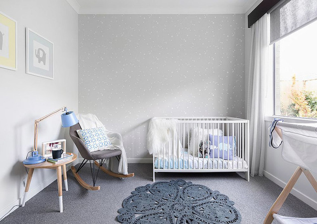 Trang trí phòng cho bé trai sơ sinh 2