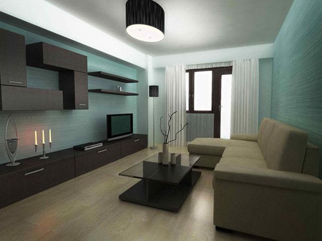 Mẫu thiết kế phòng khách nhỏ 10