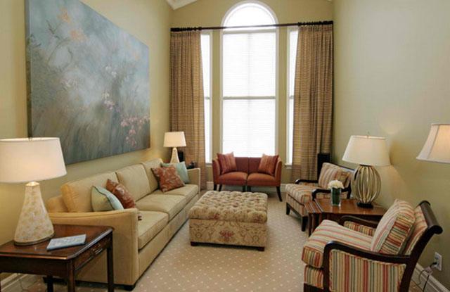 Mẫu thiết kế phòng khách nhỏ 4