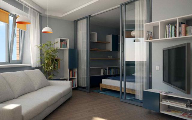 Mẫu thiết kế phòng khách nhỏ 9