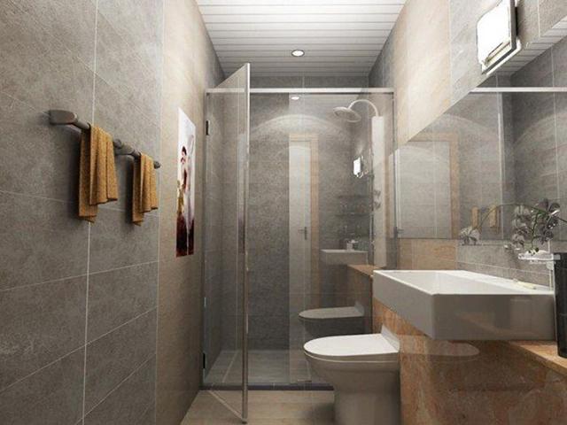 lưu ý khi thiết kế nhà vệ sinh trong nhà ống
