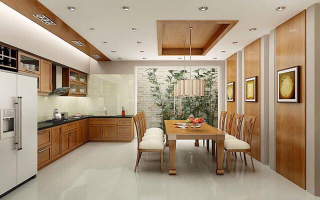 Thiết kế phòng ăn và bếp đẹp 1