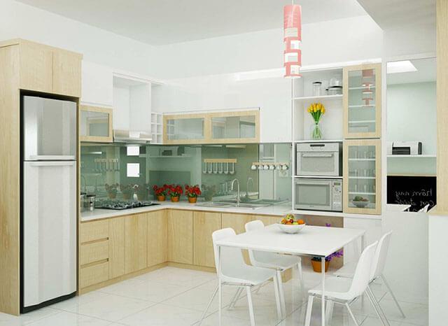 Thiết kế phòng ăn và bếp đẹp 10