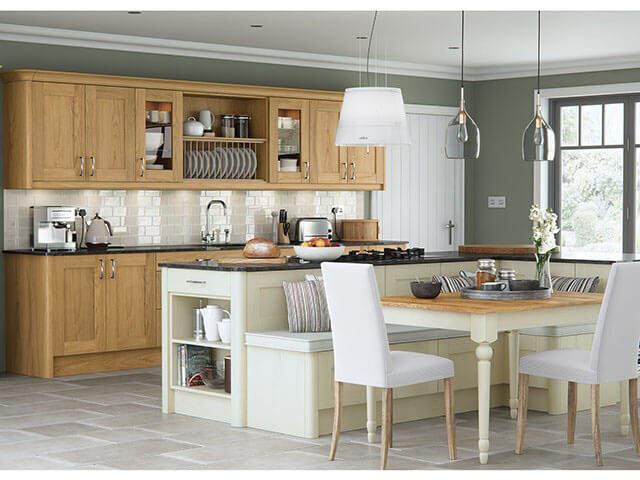 Thiết kế phòng ăn và bếp đẹp 2