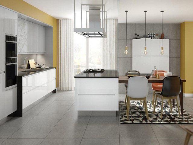 Thiết kế phòng ăn và bếp đẹp 3
