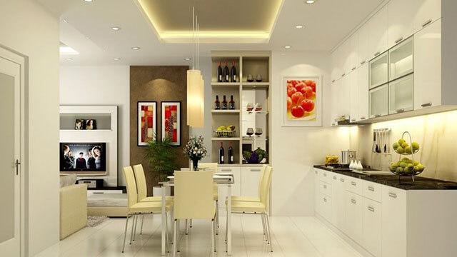 Thiết kế phòng ăn và bếp đẹp 5
