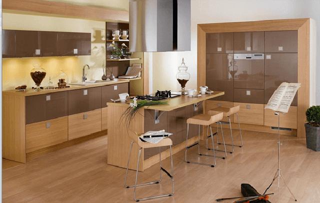 Thiết kế phòng ăn và bếp đẹp 8